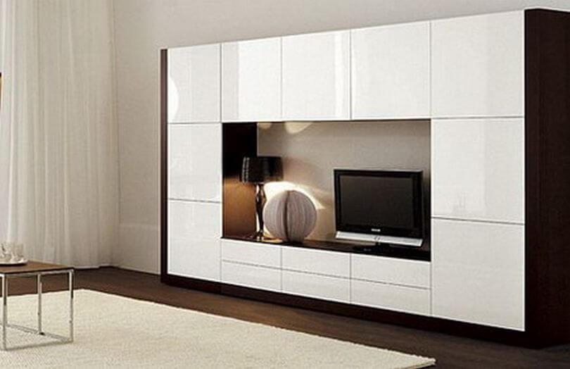 Мебель для гостинной на заказ в оренбурге: стенки, стиллажи,.